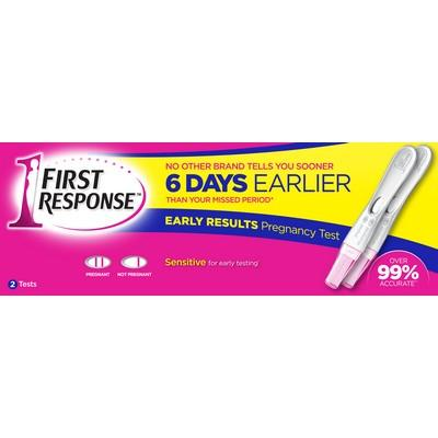 FIRST RESPONSE™ Early Result Pregnancy 2 test
